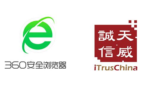 天威诚信实名认证入根 360浏览器,携手构建网络安全信任环境